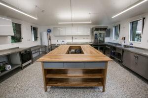 Interior of Rhyl Kitchen Classroom